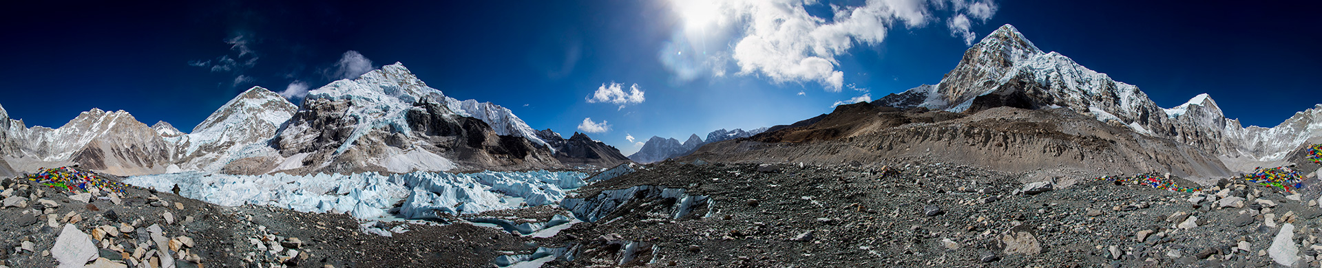 Everest Base Camp 360 view