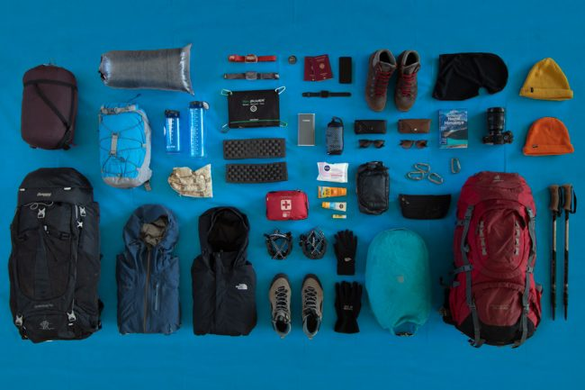 Annapurna Circuit & Annapurna Base Camp Trek Packing List | | Overview | Outside Material