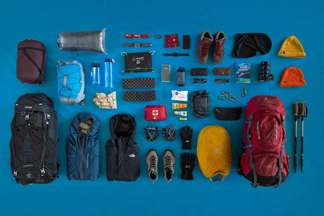 Everything we packed for a couple's trip to the Annapurna region