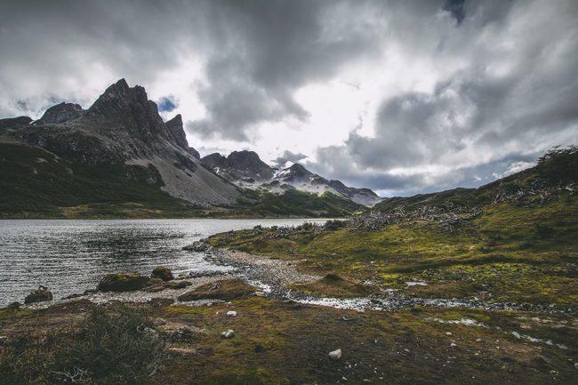 Laguna Hermosa and Cerro Clem | Dientes de Navarino | Outside Material