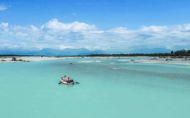 Tagliamento, Italy   Inflatable Boat Tour   Aerial View   Outside Material
