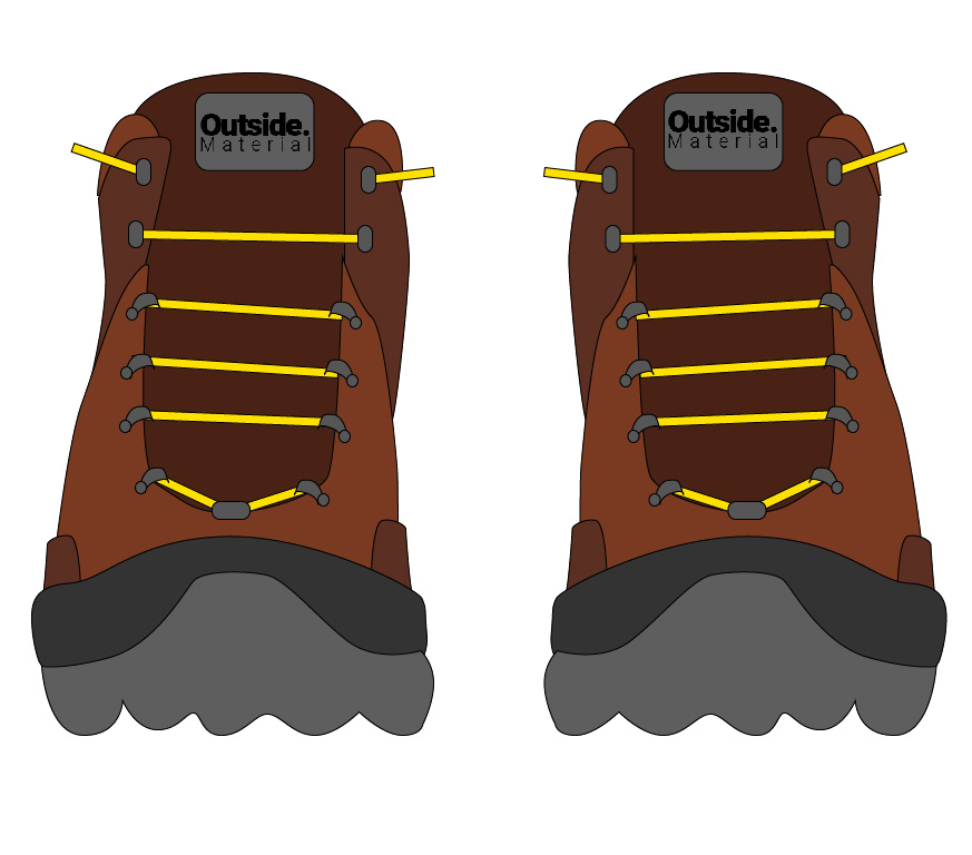 How to lace your hiking boots if your shoes feel too tight | Outside Material