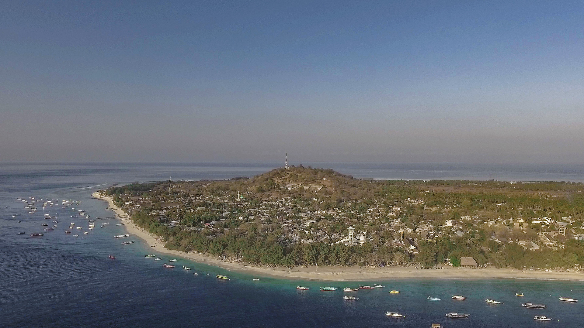 Evacuation hill. Is it safe to travel to the Gili Islands after the 2018 earthquakes?