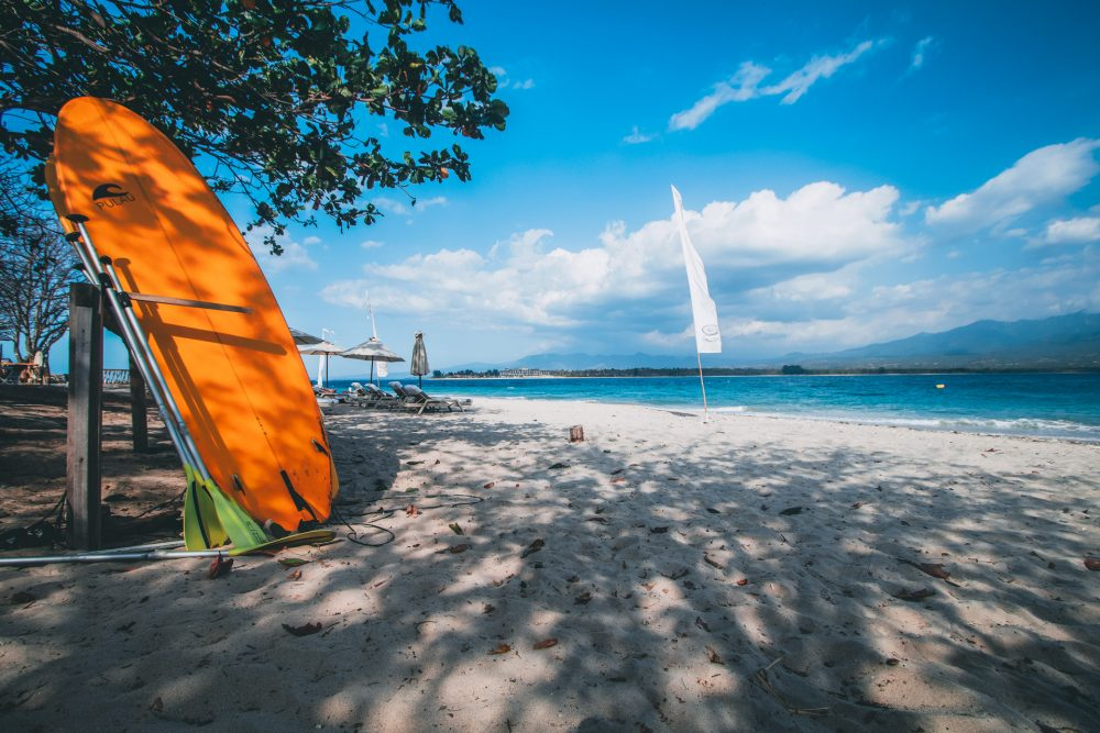 Shoestring paradise. Gili Air.