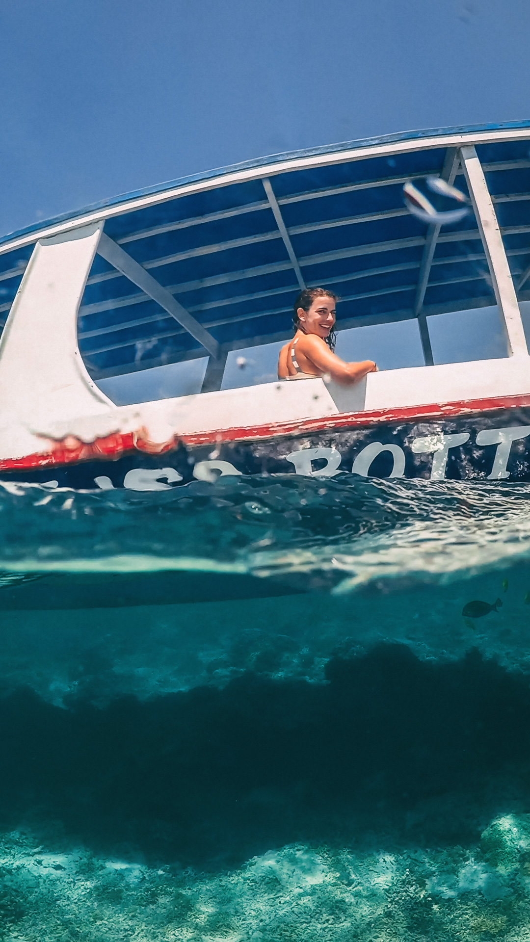 Glassbottom Boat, Snorkeling Trip, Gili Islands   Can I travel to the Gili Islands after the earthquakes?