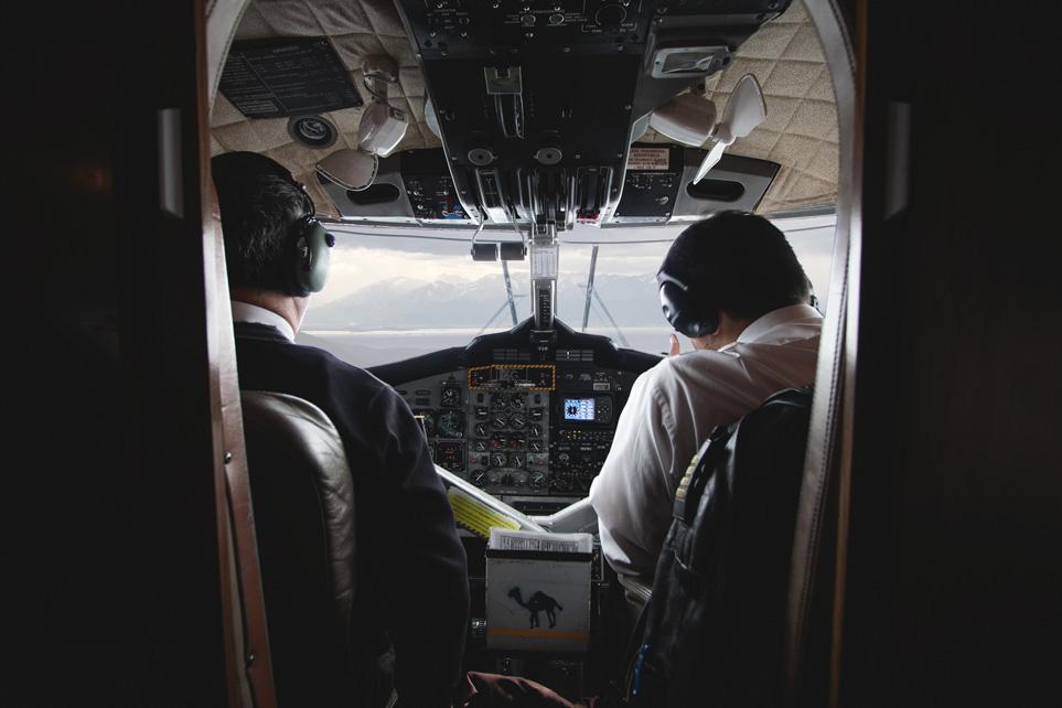 Cockpit Airplane