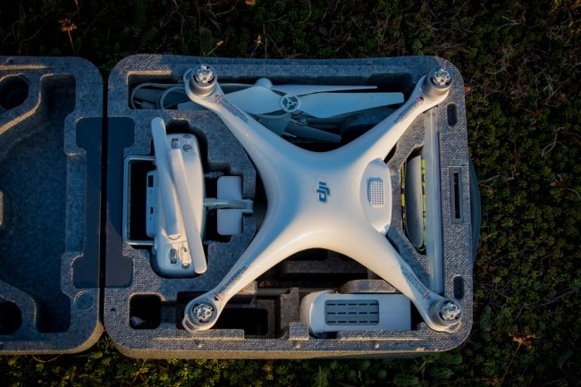 DJI Phantom 4 drone case   Outside Material