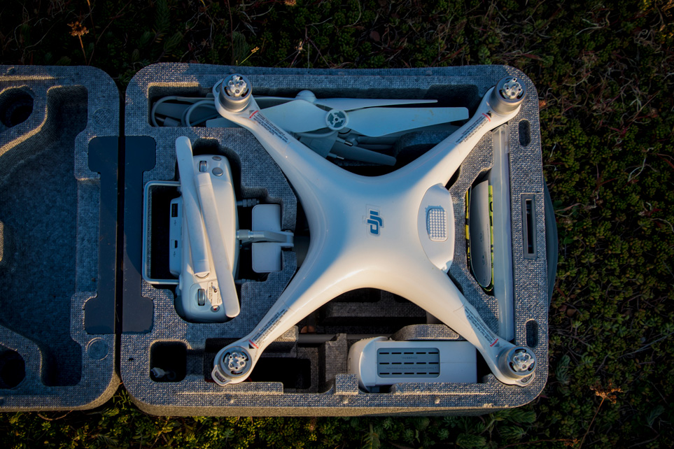 DJI Phantom 4 drone case | Outside Material