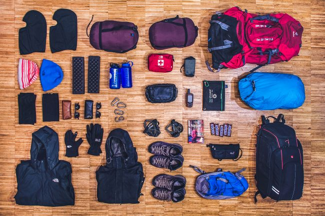 Everest Packing list