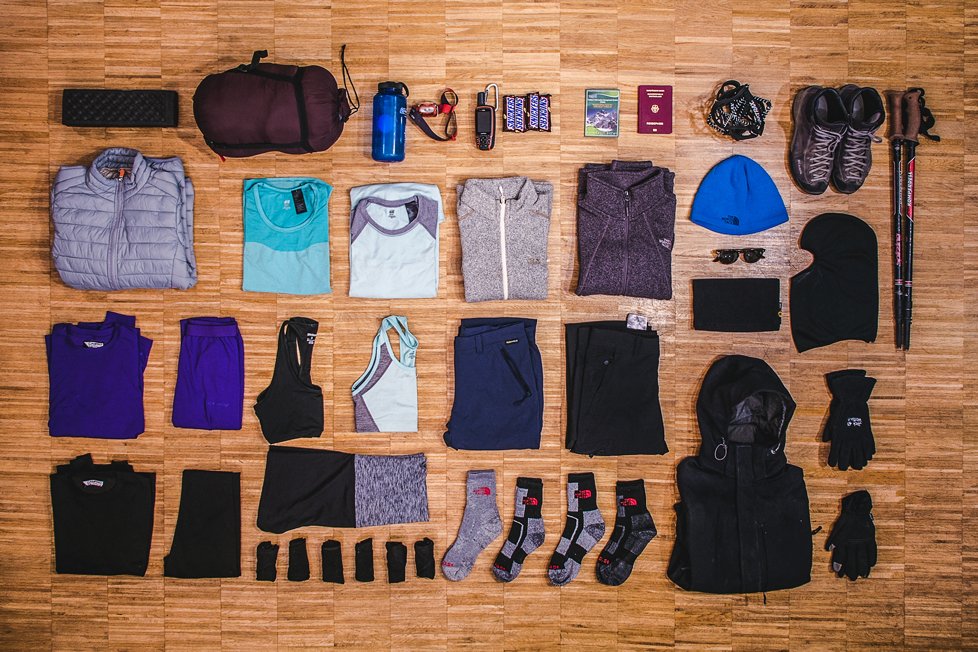 Everest Base Camp Trek | Packing list | Hers
