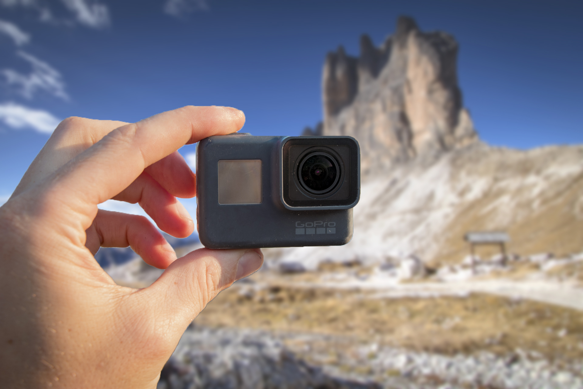 GoPro Hero 6 for vlogging