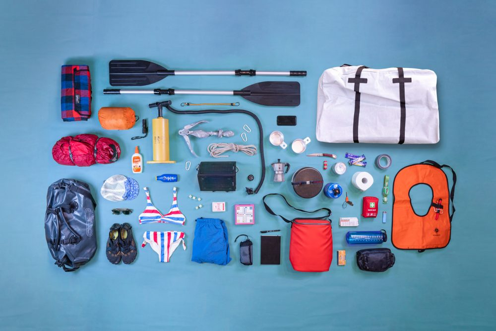 Our Couple's Packing List for a multi-day boat and camping trip