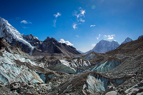 Outside Material | Everest Base Camp Trek | Khumbu glacier