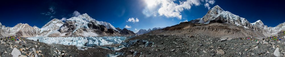 Outside Material | Everest Base Camp 360 view