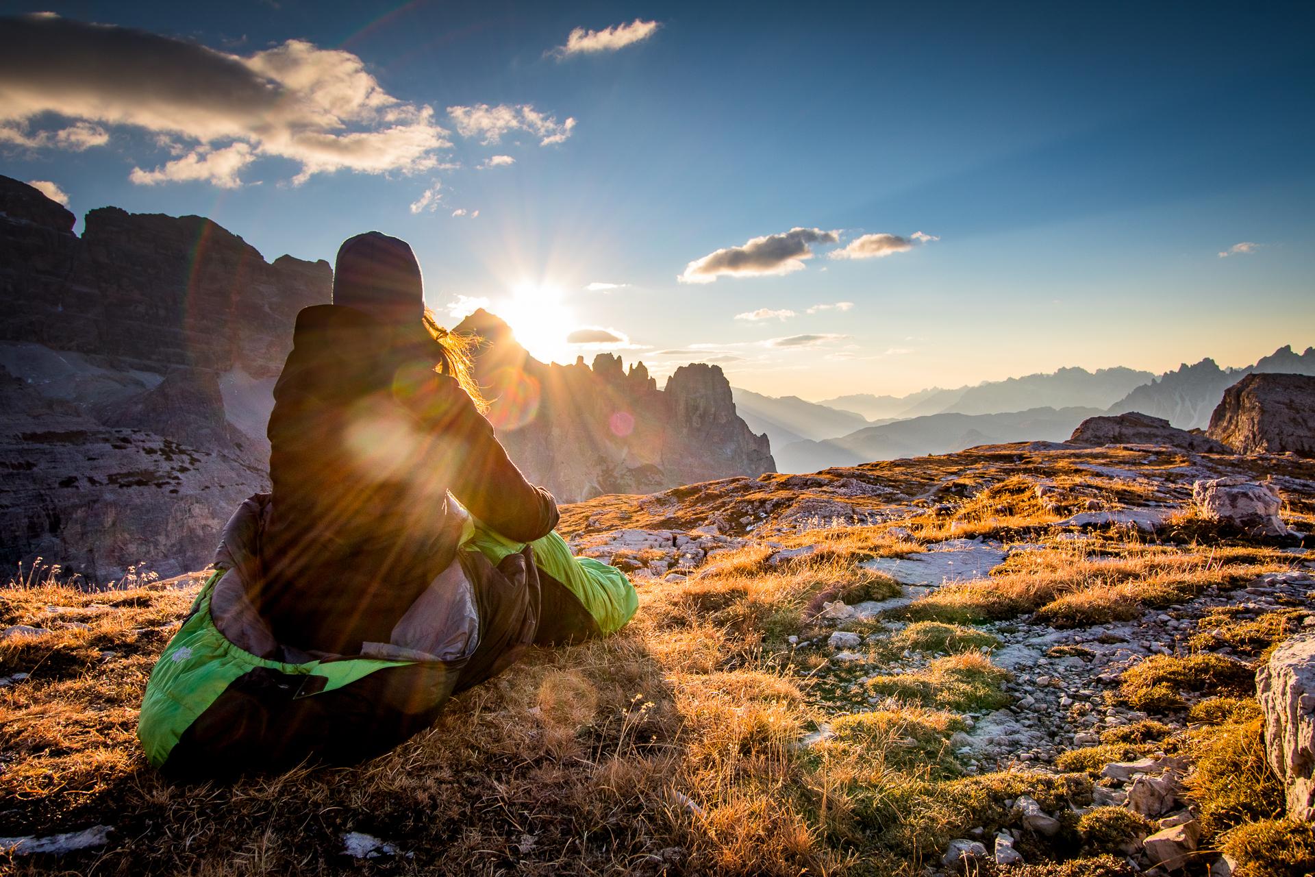 Sleeping Bag Dolomites
