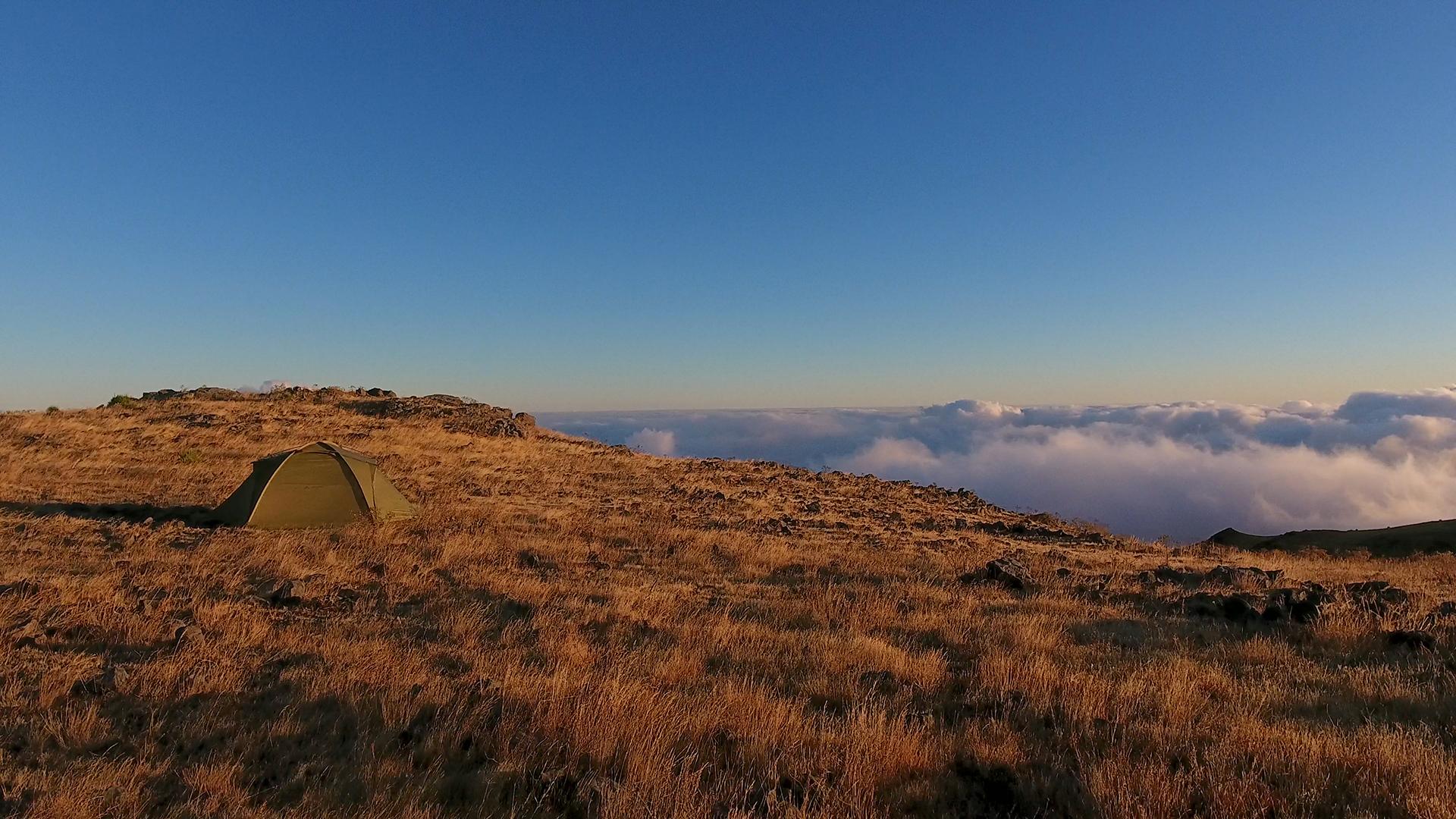 maderia camping pico arieiro