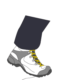 Walking school | Hiker boots | Graphic